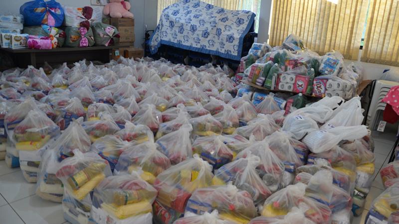 Lions Clube recebe ajuda internacional e repassa para famílias atingidas pelo Ciclone em Ubiratã