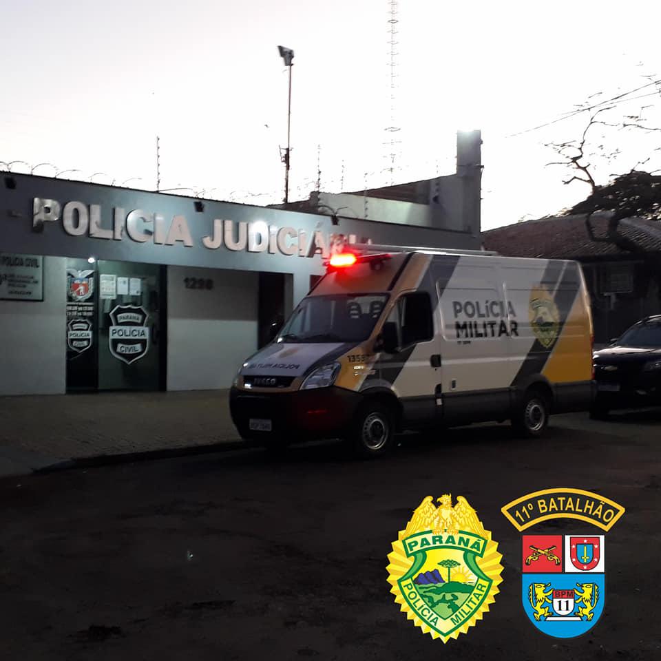 Polícia Militar, Polícia Civil e Ministério Público do Paraná deflagram operação contra o tráfico de drogas em cidades da região centro-oeste do Paraná