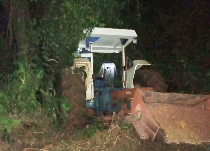 Agricultor morre em acidente com trator em Roncador
