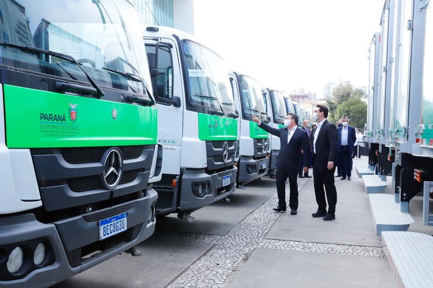 Estado compra 100 caminhões-pipa para auxiliar os municípios; Ubiratã é beneficiado