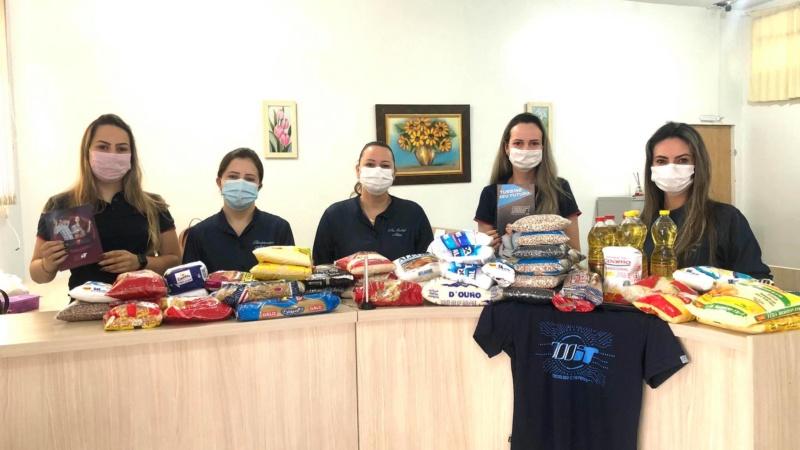 Grupo WIT realiza doação de alimentos para a Santa Casa de Ubiratã