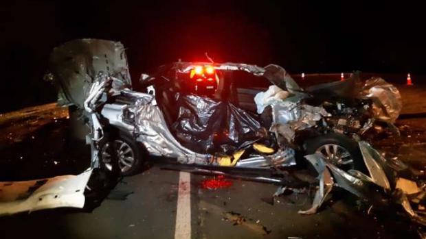 Mulher morre em grave acidente na BR 369