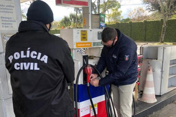 Força-tarefa fiscaliza 300 postos de combustíveis no PR