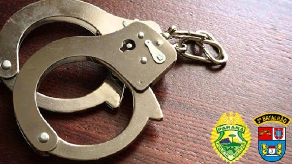 Mulher com mandato de prisão é detida pela Policia Militar em Ubiratã